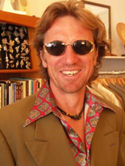 Cool shades and 1970s shirt