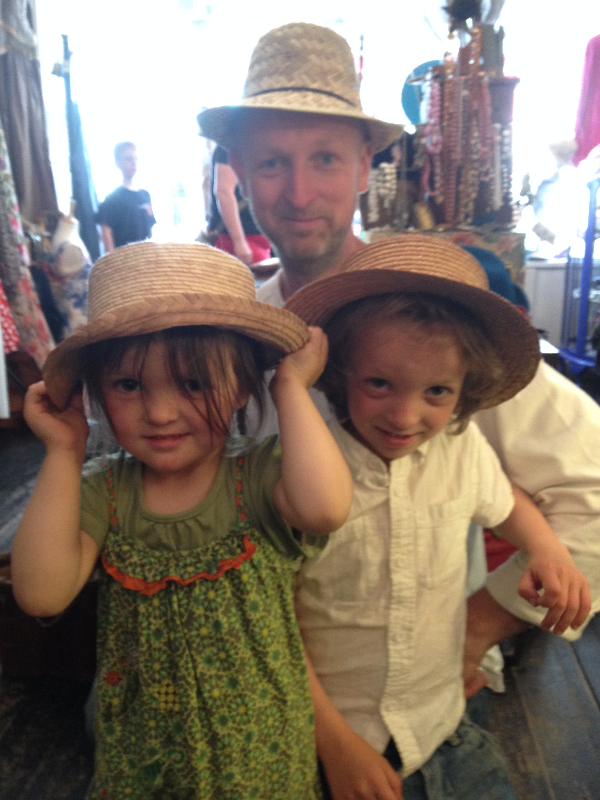 Be-hatted Trio