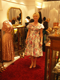 1950s floral frock