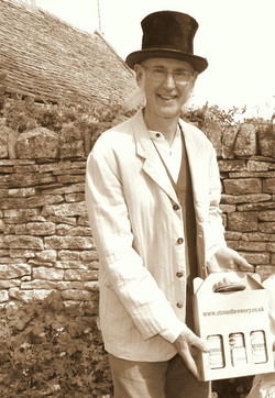 Bryan at the Laurie Lee Celebrations