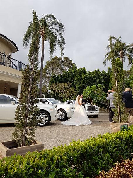White Rolls Royce Phantoms
