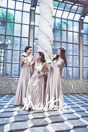 Multiwrap Bridesmaids Dress