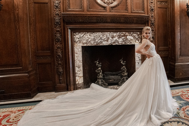 La Maison Couture - Aurora With Full Skirt