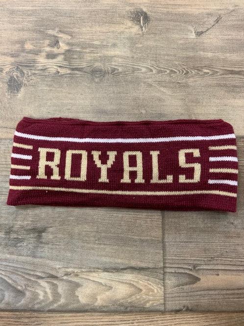 Royals knit in headband