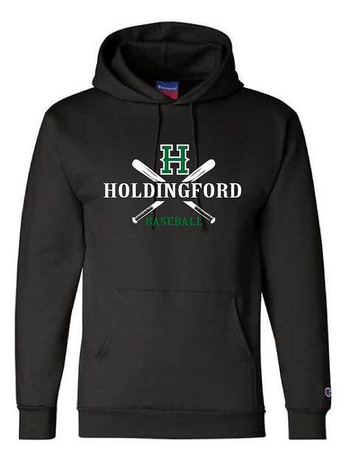 Holdingford Baseball hooded sweatshirt