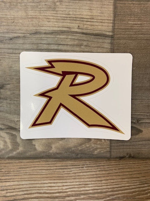 Royalton R window sticker