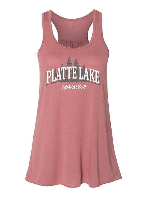 Platte Lake Ladies and Girls Tank
