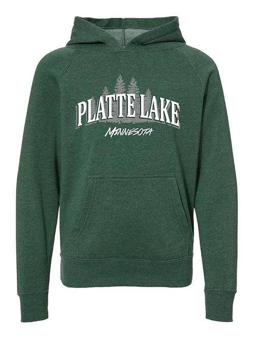 Platte Lake Youth Hooded Sweatshirt