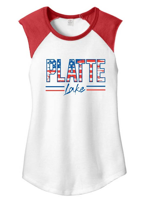 Platte Patriotic Ladies Tank
