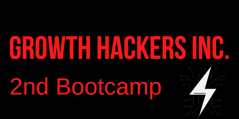 2nd Growth Hacking Bootcamp (19 Spots Left) 🎈