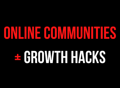Why I am Doubling Down on Online Communities | Growth Hacking + Online Community Development 🤔