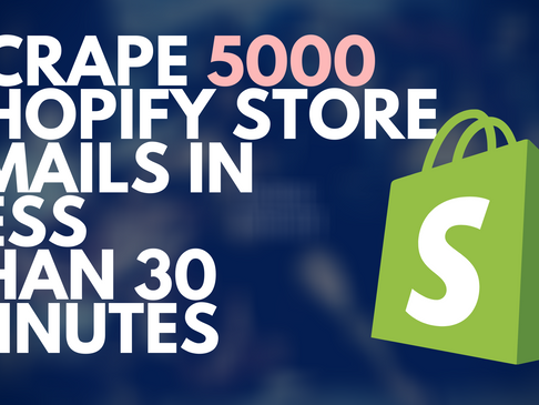 Scrape Shopify Stores | Hunter.io Tech Look Up | BuiltWith Alternative 👈