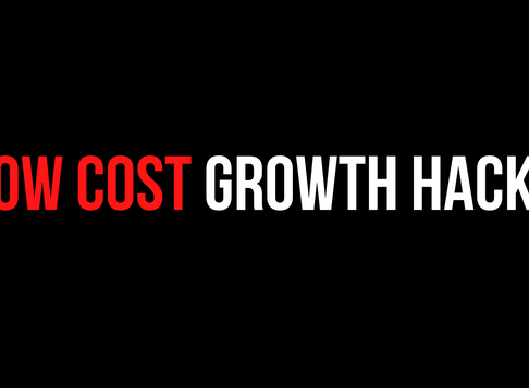 Low Cost (Cheap Marketing) Growth Hacks For Start-Ups | No BS Guide 👈