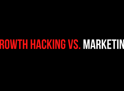 Growth Hacking vs. Marketing | The Challenge lies in scaling... 📈