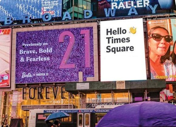 Outdoor Billboards (1 Week)