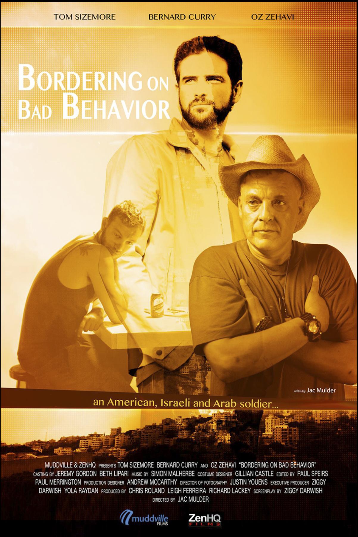 Bordering on Bad Behaviour Poster-2