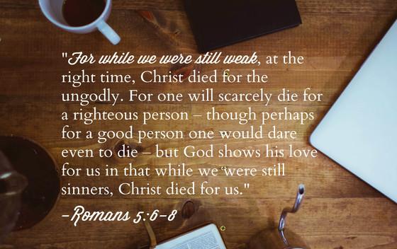 우리를 향한 하나님의 사랑은 그분의 본성으로터 나옵니다