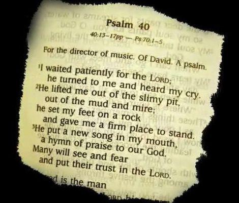 하나님을 향한 기다림이 있으십니까?