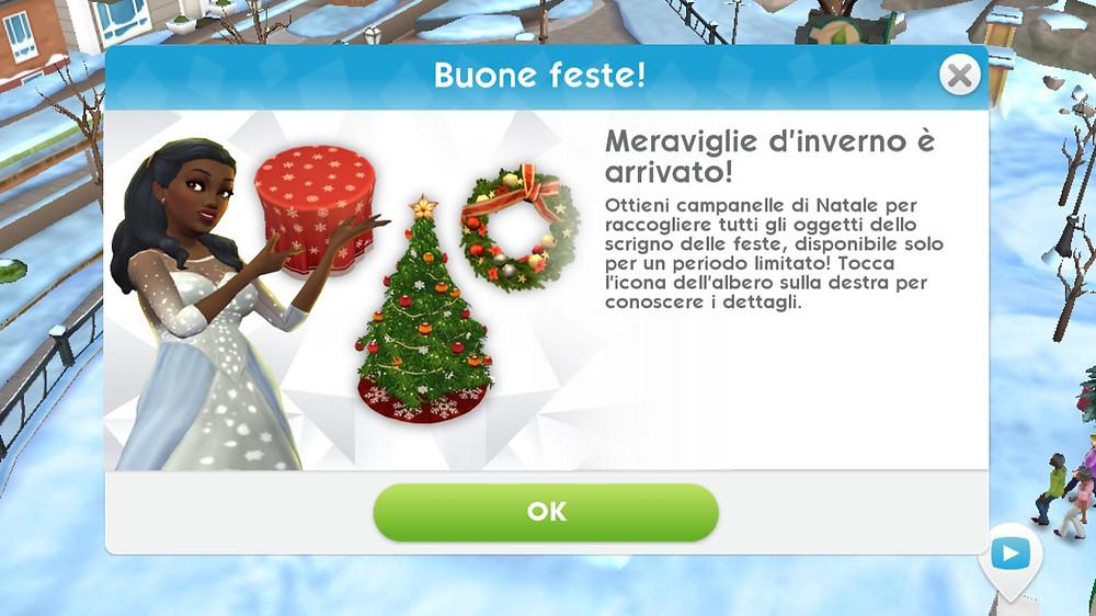 Albero Di Natale The Sims 3.E Arrivato L Evento Meraviglie D Inverno Su The Sims Mobile