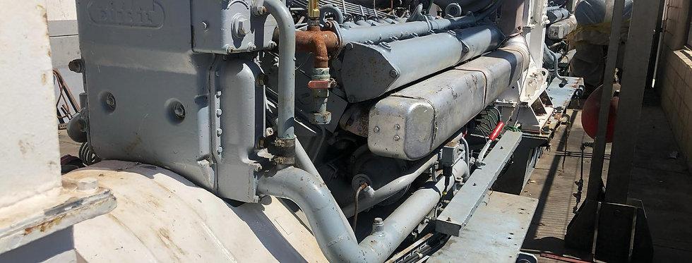 MARINE ENGINE TYPE MWM TRHS 518V16-31AE