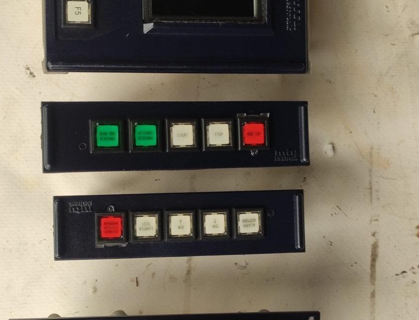 SWITCH PANEL CONTROL MTU ELECTRONIC