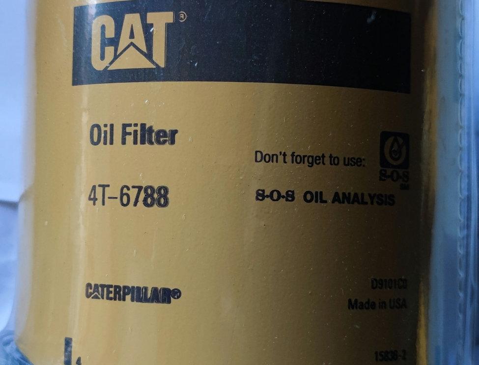 OIL FILTER CATERPILLAR