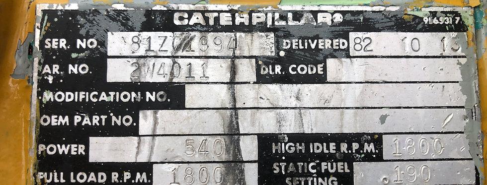 Marine generator Caterpillar 3412