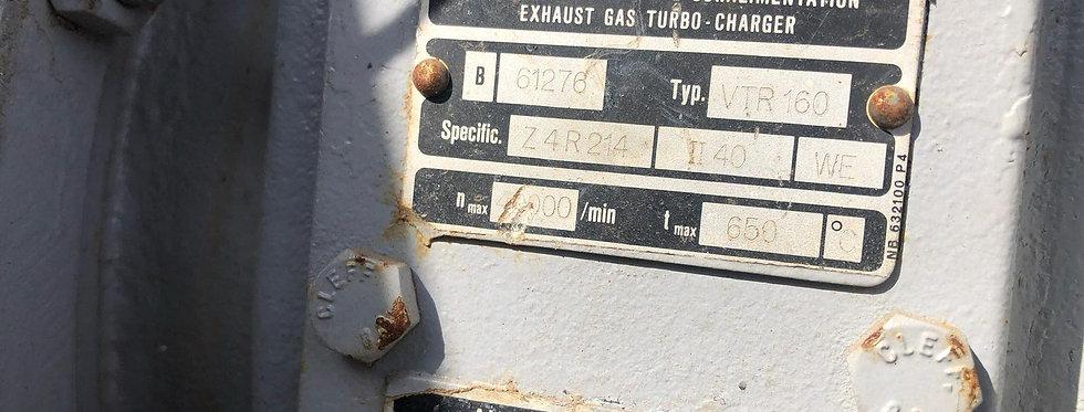 TURBOCHARGER VTR160