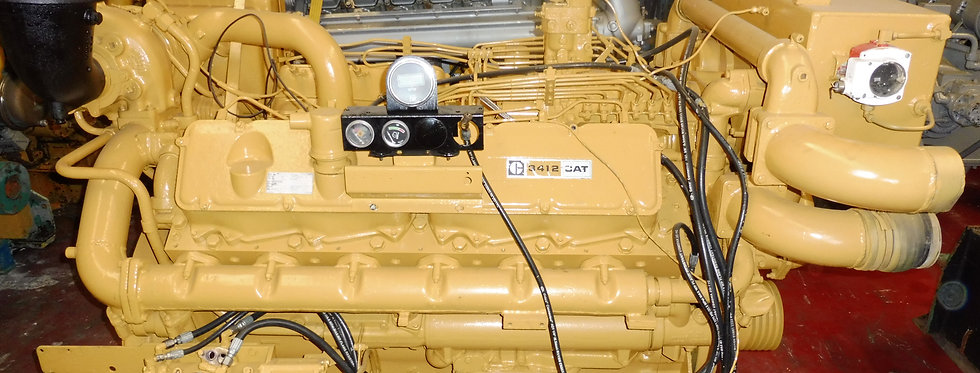MARINE ENGINE CAT 3412