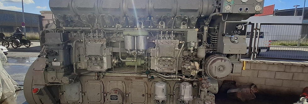 MARINE ENGINE DEUTZ SBV-6M 628