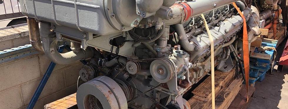 MARINE ENGINE TYPE MWM TBD 234 V12