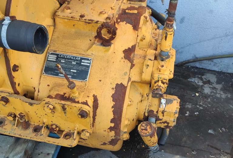 GEARBOX CAT.-TWIN DISC MG 514 RATIO 3.5:1