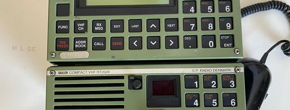 RADIO CONTROL SAILOR  COMPACT VHF RT2048 / DSC RM2042
