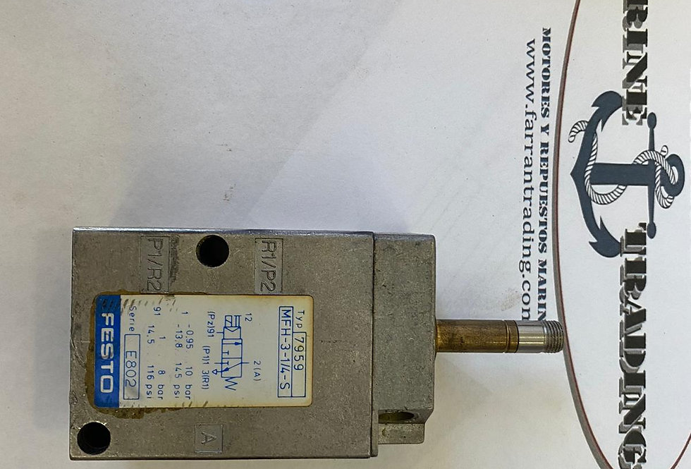 ELECTRO VALVE TYPE 7959 PART NUMBER: E802