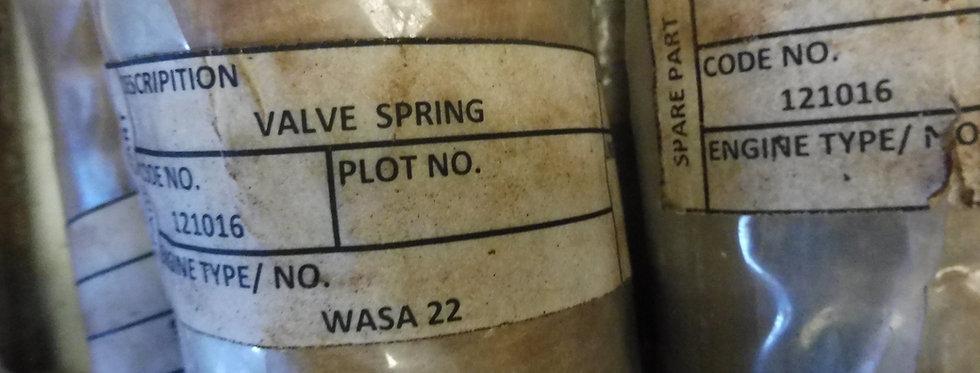 VALVE SPRING WARTSILA 6R22 P/N 121016