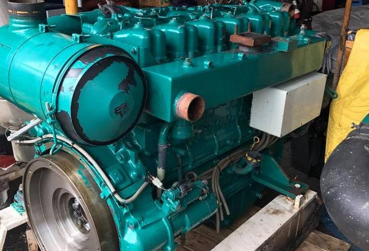 MITSUBISHI ENGINE TYPE 6D 22