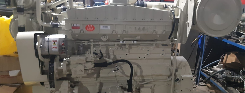 MARINE ENGINE CUMMINS NTA855-M