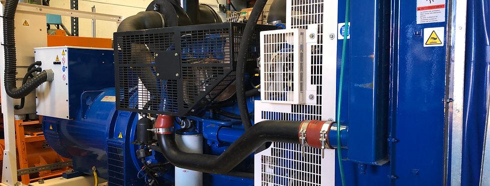 Standby generator Perkins 250 KVA WITH STAMFORD ALTERNATOR