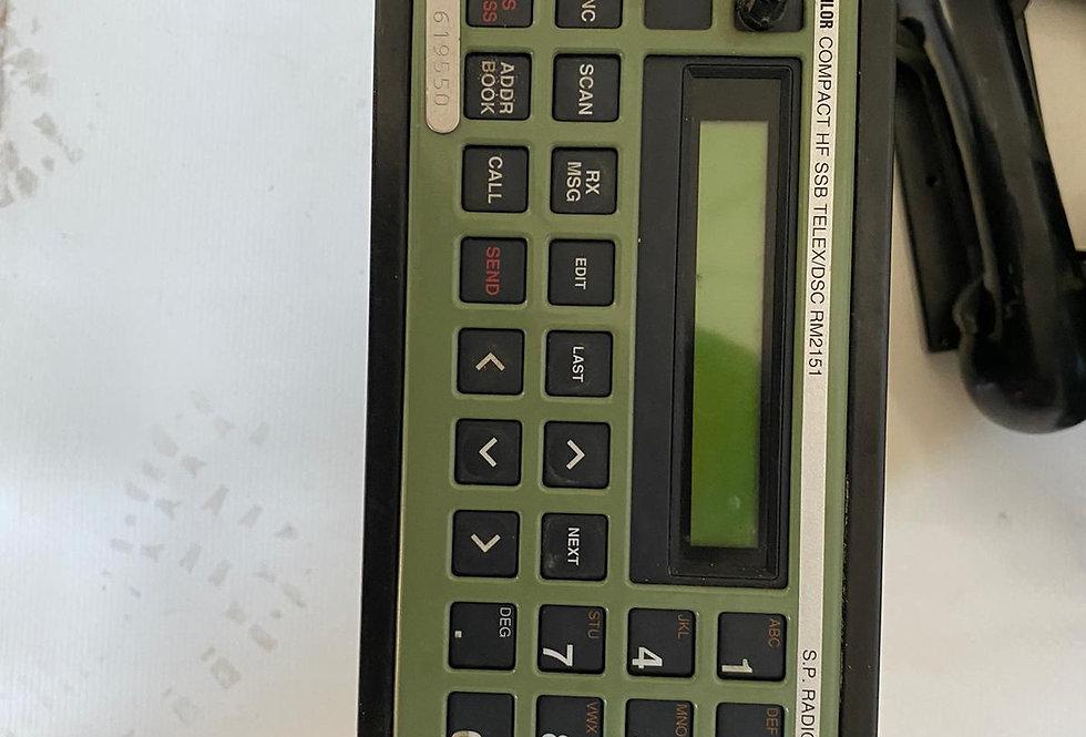 RADIO CONTROL SAILOR HF SSB TELEX DSC RM2151