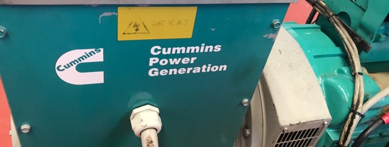 CUMMINS GRUPO ELECTRÓGENO MARINO  4BT3