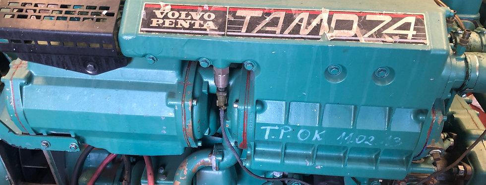 Marine engine volvo penta TAMD74