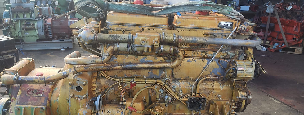 MARINE ENGINE DAF WITH GEARBOX MASSON