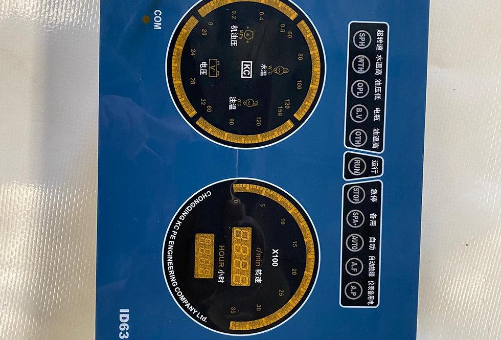 NEW ENGINE PANEL CONTROL CUMMINS P/Nº4913986A