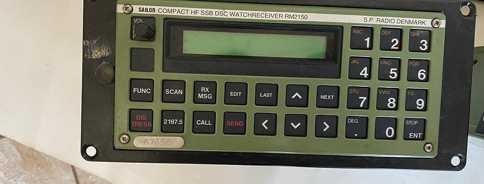 RADIO CONTROL SAILOR HF SSB DSC WATCHRECEIVER RM2150