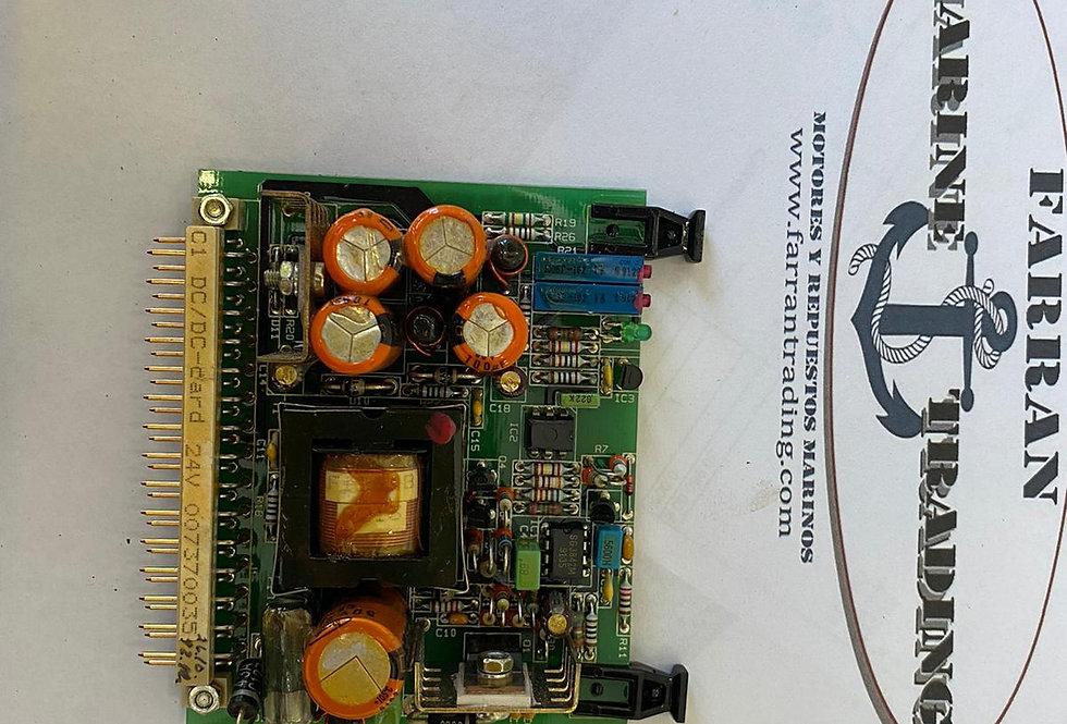 DC/DC CARD 42V P/N SR912910 S/Nº 22173960