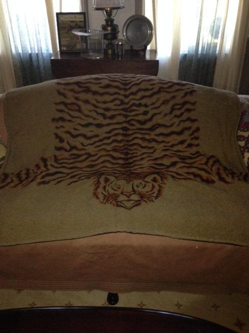 Tiger Sleigh Blanket