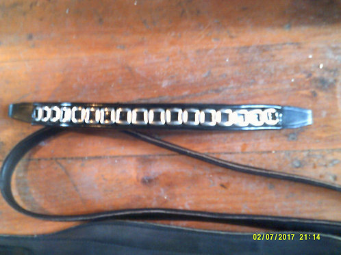 Fancy Patent Browband