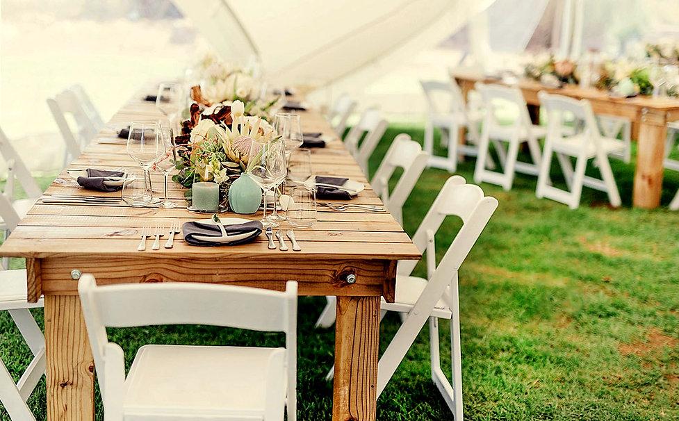 PALLET TABLE & WIMBLEDON CHAIR