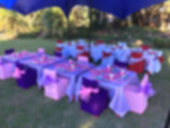 STRETCH TENT, PARTY KIDS, KIDS TABLE, KIDS CHAIR, THEMED KIDS ITEMS