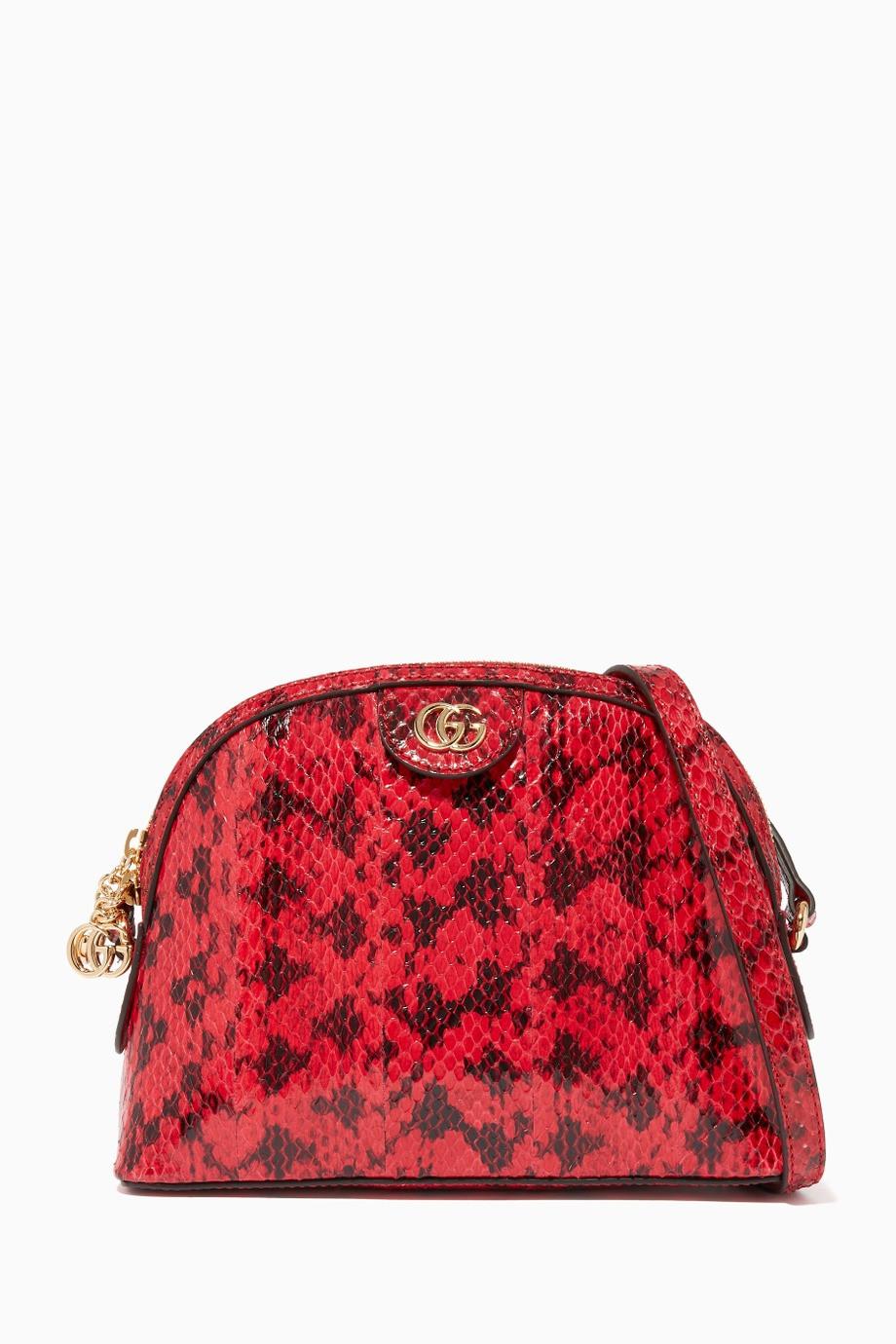 حقيبة جوتشي أوفيديا جلد أفعى 2019
